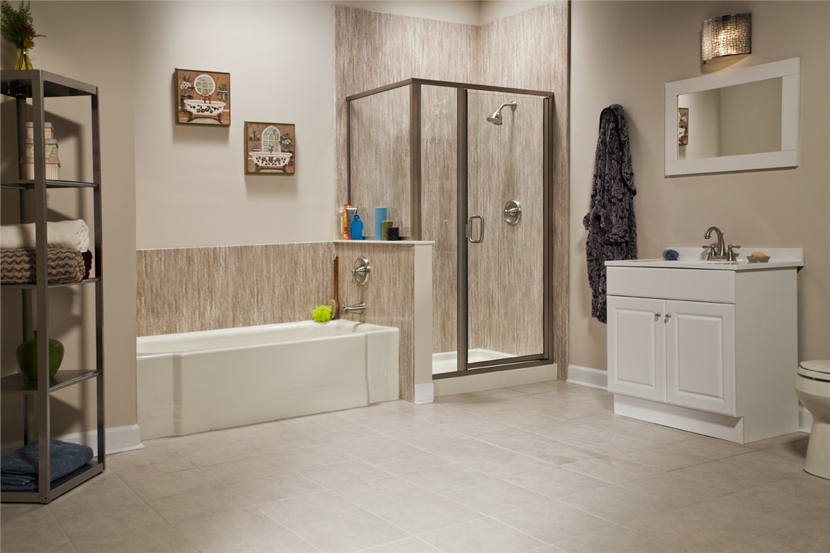South florida replacement showers replacement showers for Florida bathroom ideas
