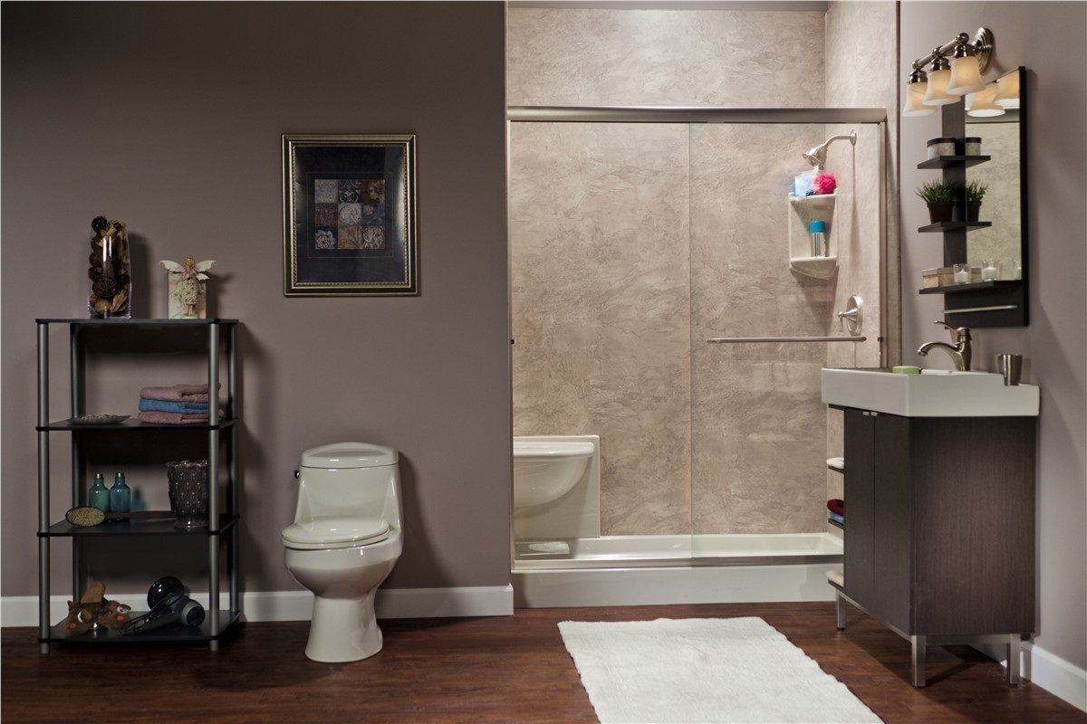 South Florida Tub To Shower Conversion Tub To Shower Conversion - Bathroom remodeling hialeah