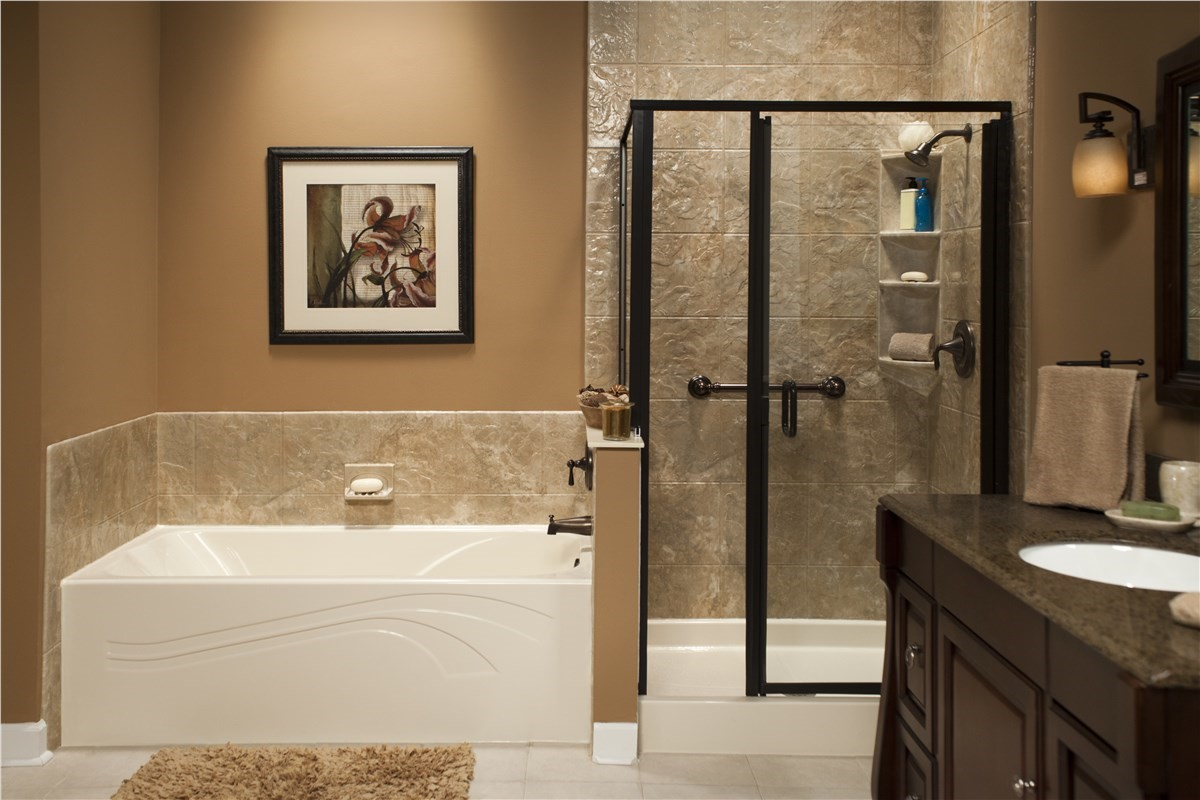 show bathrooms makeovers fort lauderdale shower to tub conversion bath 14397