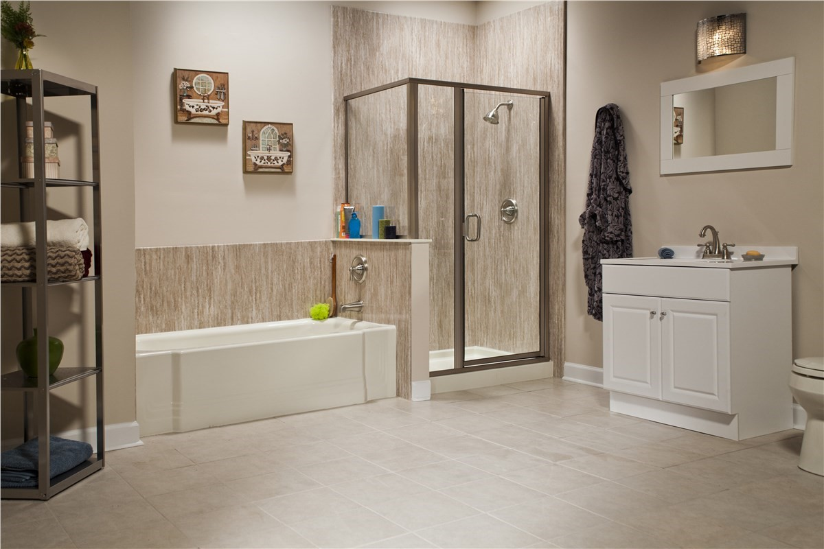 Off A Complete Bath Or Shower Remodel Bathrooms Plus Of South - Bathroom shower renovations photos
