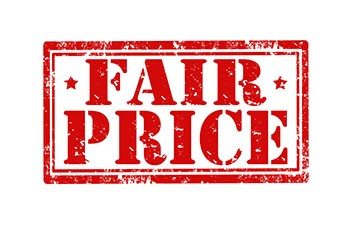 The Blair price is the Fair Price!