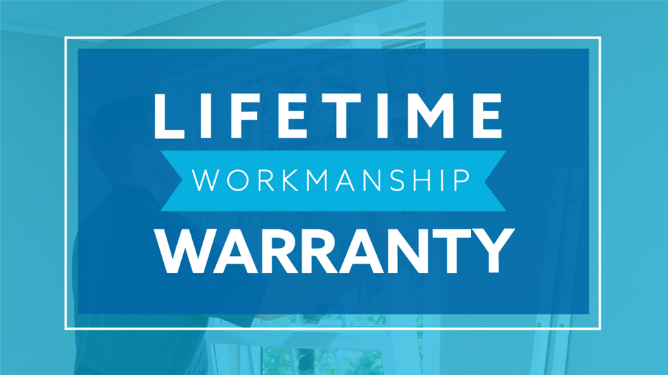 Bordner Lifetime Workmanship Warranty