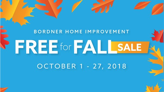 Bordner October Sale