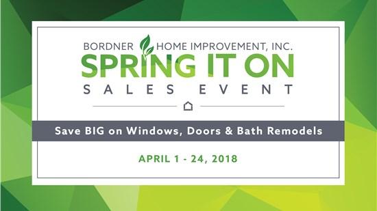Bordner April Sales Event