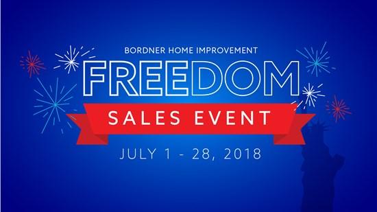 Bordner July Sales Event