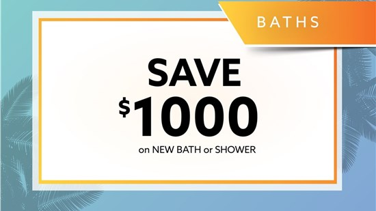Bordner Monthly Bathroom Offer