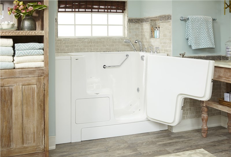 walk in tub with door
