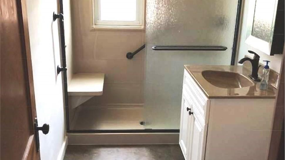 Bathroom Conversion - Tub to Shower Photo 1