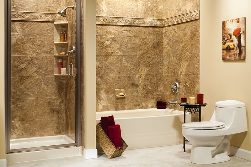 Tub and Shower Surrounds   Acrylic Shower Wall Panels   Bath ...