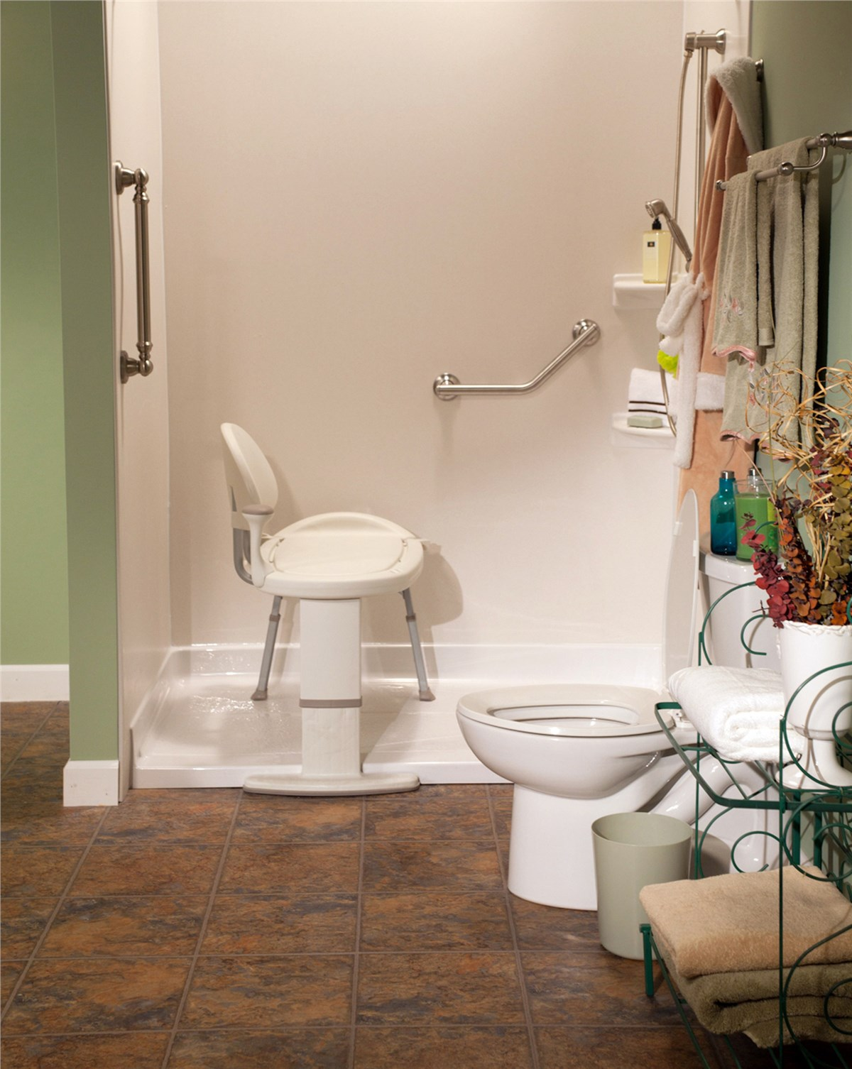 Barrier Free Shower Omaha Curbless Showers Bath Planet Of Nebraska