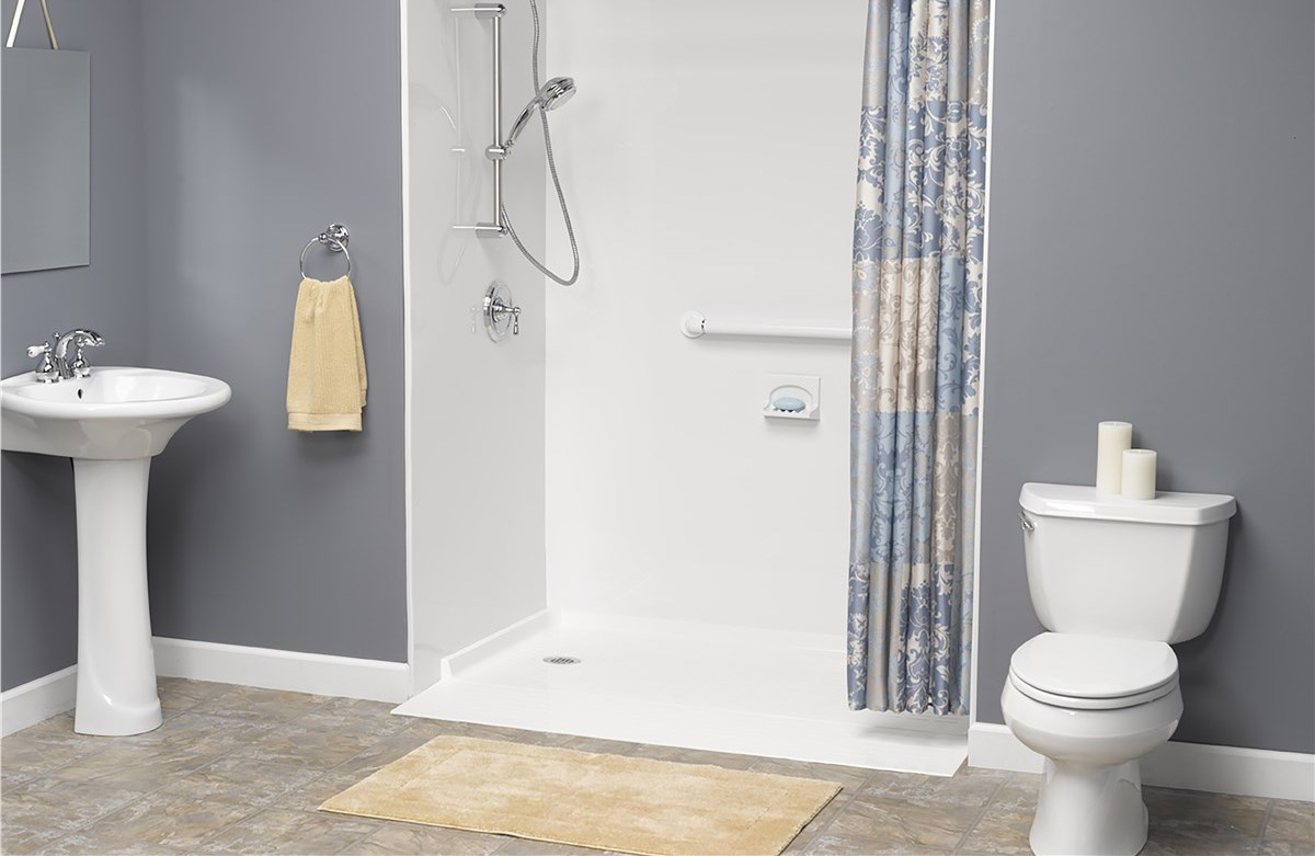 Barrier Free Shower Denver | Curbless Showers | Bath Planet Denver