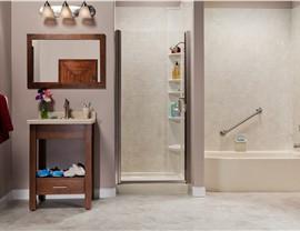 Bathroom Conversion - Shower to Tub Photo 4