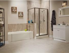 Bathroom Conversion - Shower to Tub Photo 3