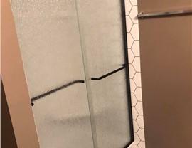 Bathroom Conversion - Tub to Shower Photo 4