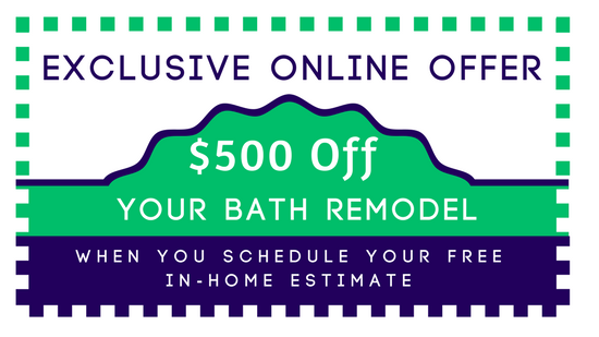 exclusive online offer 500 off your bath remodel
