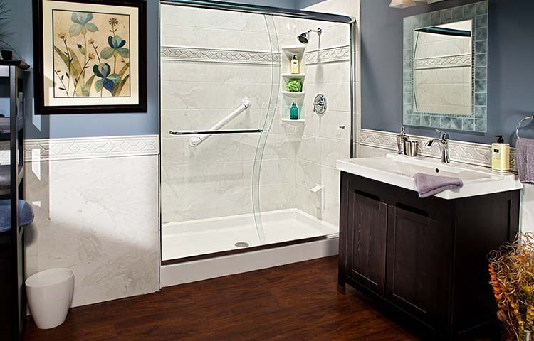 50% Off Installation with purchase of a bathtub, shower, or walk-in tub system - OR financing as low as $199/mo*