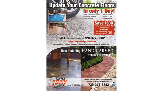 $300 Off Your Floor Coating!