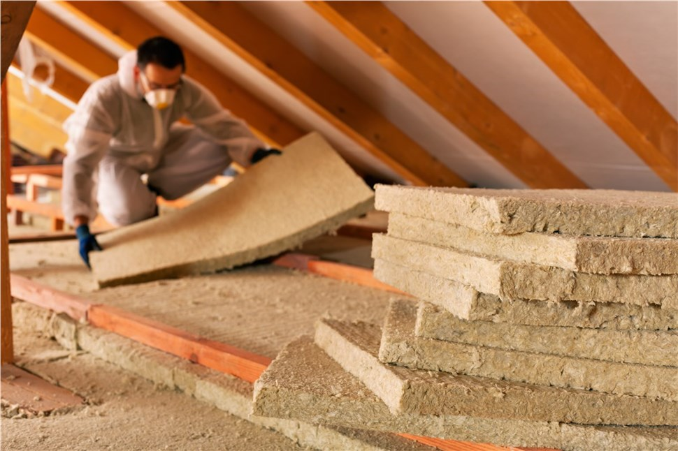 10% of whole home insulation project