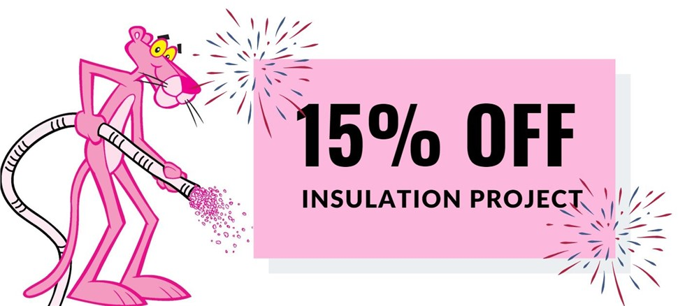 15% Off Insulation Project