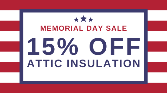 15% Off Attic Insulation