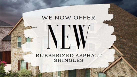 New Rubberizing Asphalt Shingles