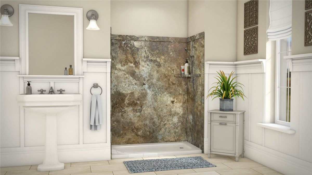 Colorado Springs Bath Wall Surrounds | Bathtub Enclosures Colorado ...