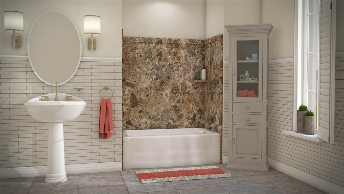 Colorado Springs Bath Wall Surrounds | Bathtub Enclosures Colorado ...