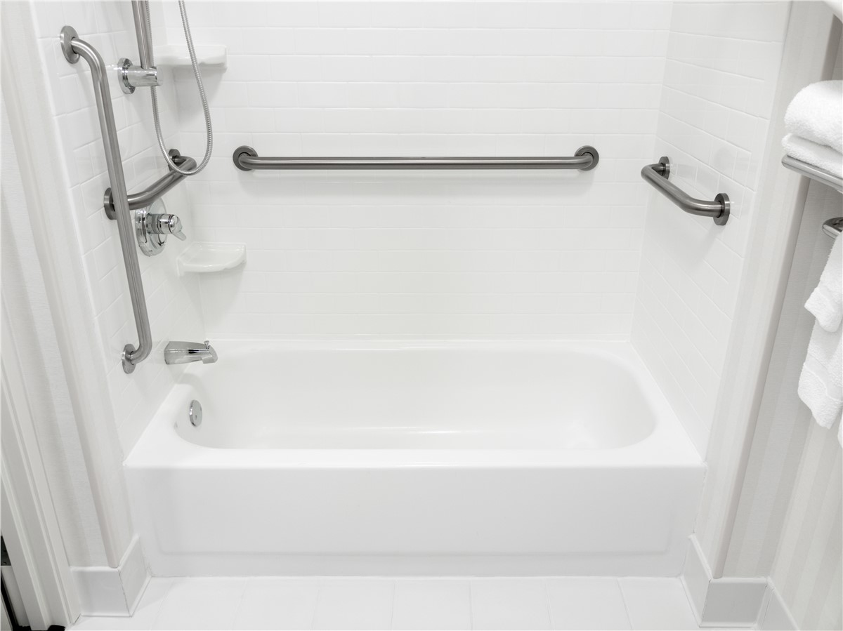 Bathroom Remodel Solid Surface Wall Systems Photo 3