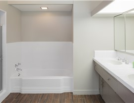 Bathroom Remodel - Solid Surface Wall Systems Photo 4