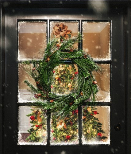 4 Ways to Decorate Your Entry Door for the Holidays