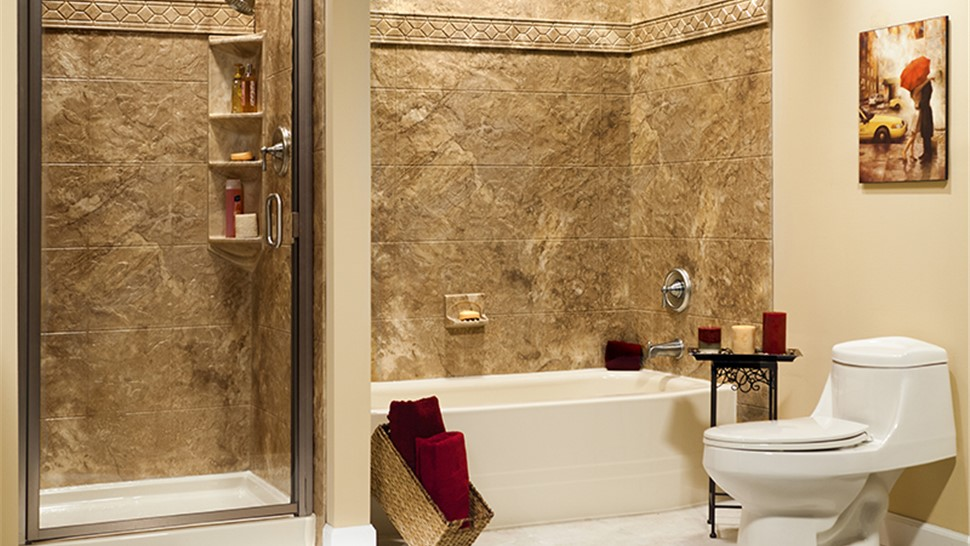 Dallas Bath Wall Surrounds | Bathtub Enclosures Dallas | Center ...