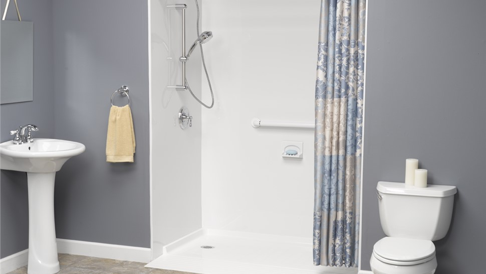 Bathroom Remodeling - Roll-in Showers Photo 1