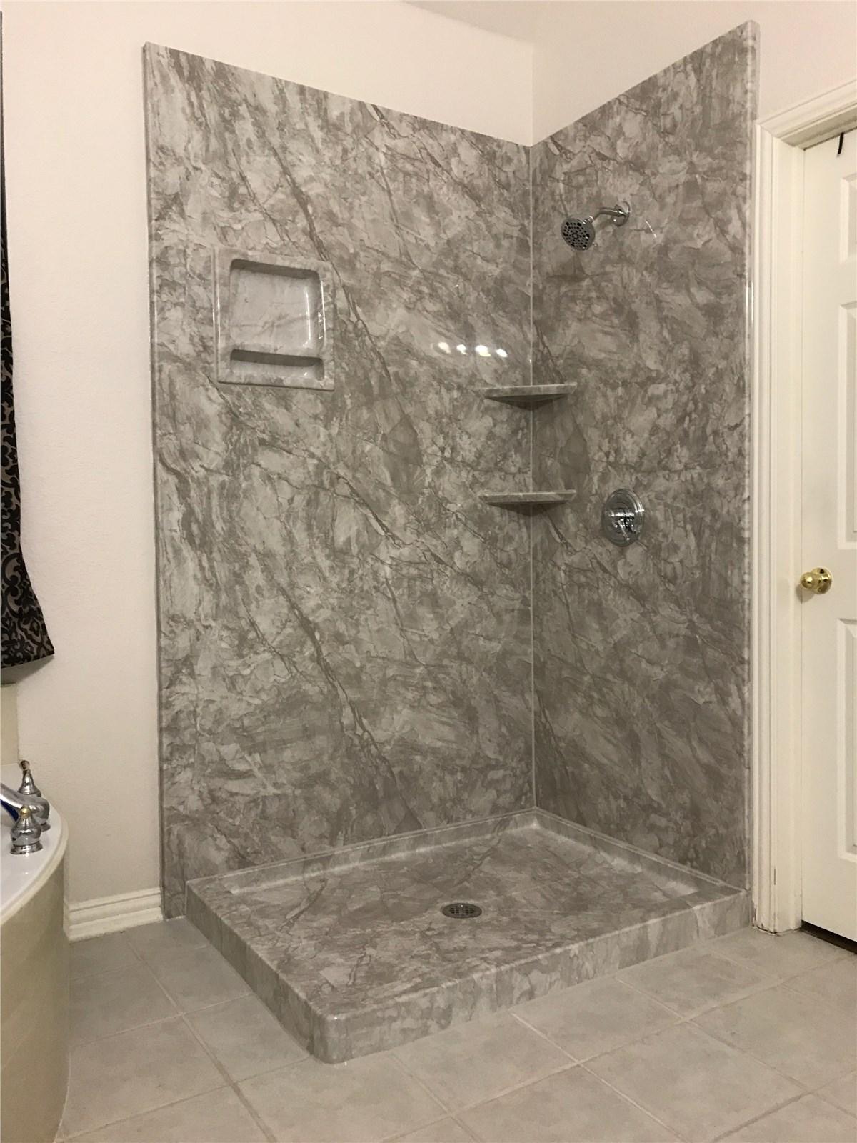 New Shower Dallas | Dallas New Shower Installation | Center Point ...