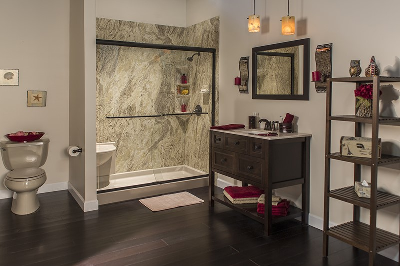 Magnificent Shower Wall Surround Systems Ideas - Bathroom with ...