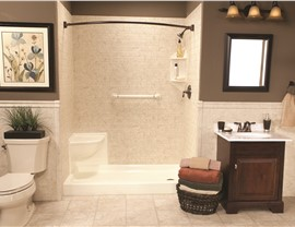 Bathroom Remodeling - Tub to Shower Conversions Photo 2