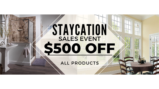 $500 Off Any Exterior Home Remodeling Project!