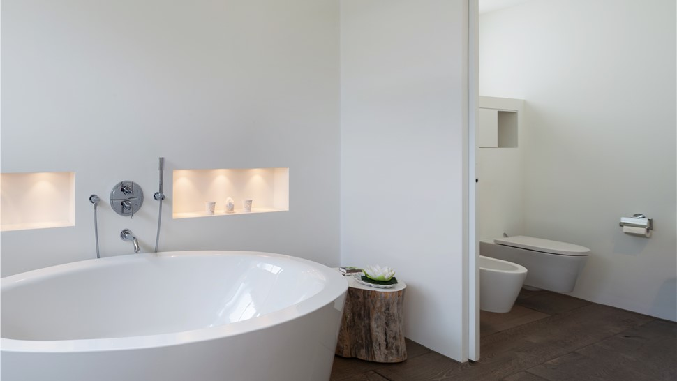 Bathroom Remodeling - Wall Partition and Reconfiguration Photo 1