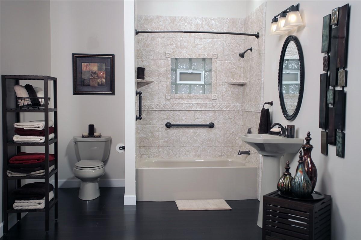 Bath Conversions   Shower To Tub Conversions Photo 4