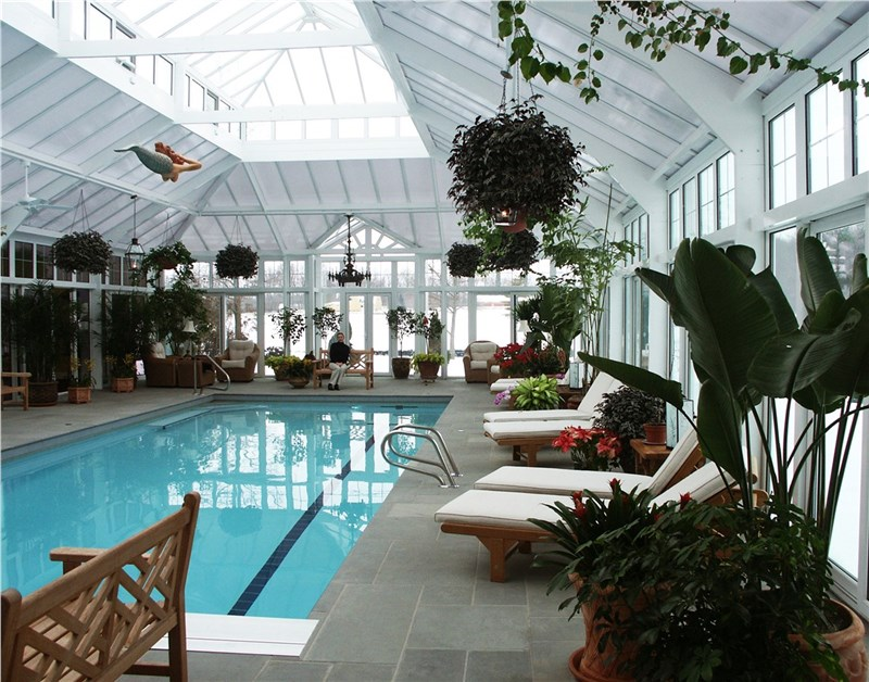 pool house conservatory built by classic construction
