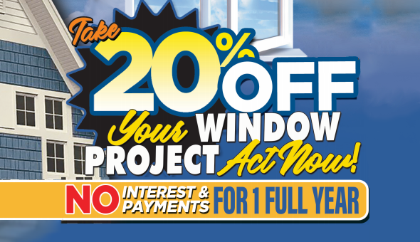 Spring Into Summer - Take 20% Off Your Window Project