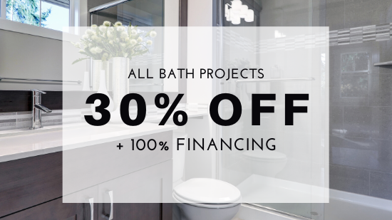 30% Off All Bath Projects
