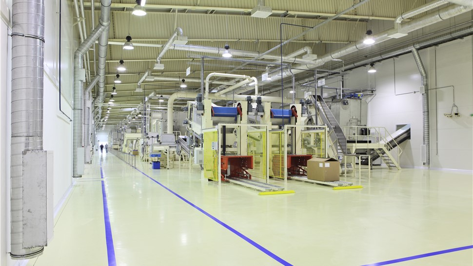 Industrial Floor Coatings - Factories Photo 1
