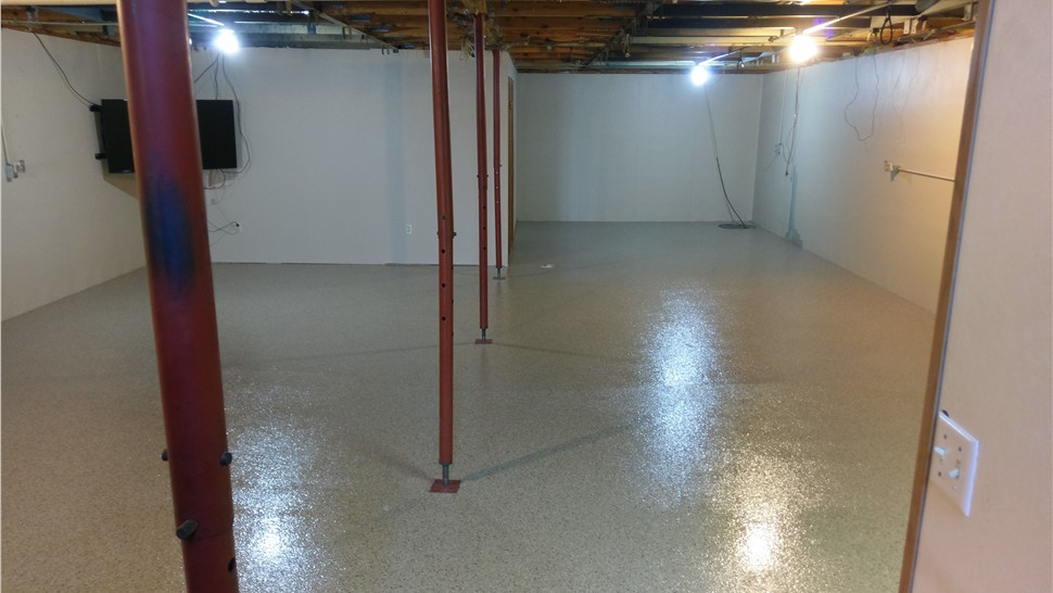 Residential Floor Coatings - Basements Photo 1