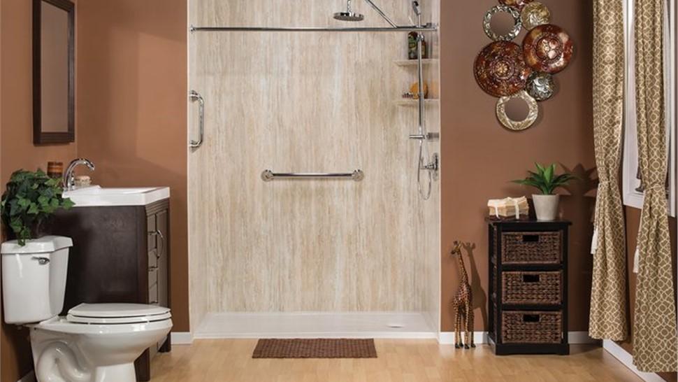 Bath Conversion - Tub to Shower Conversion Photo 1