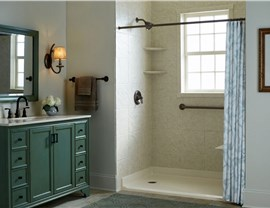 Bath Conversion - Tub to Shower Conversion Photo 2