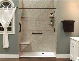Bath Conversion - Tub to Shower Conversion Photo 4