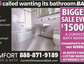 January Bathroom Sale