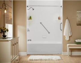 Bathtub - Bathtub Shower Combo Photo 3