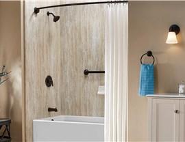 Bath Conversion - Shower to Tub Conversion Photo 4