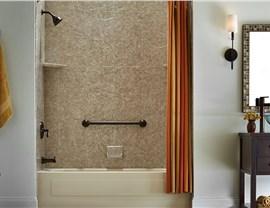 Bath Conversion - Shower to Tub Conversion Photo 3